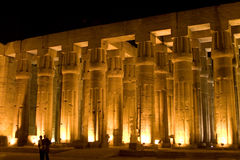 Columns of the Temple of Luxor royalty free stock photos