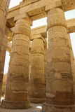 Columns of the Temple of Luxor, Egypt Stock Image