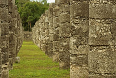 Ruins of Chichen Itza  pre-Columbian  Mayan  city. Mexico Stock Photography