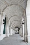 Columns of Union Station in Washington DC USA Royalty Free Stock Image