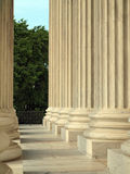 Columns at the United States Supreme Court Royalty Free Stock Photos