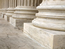 Columns at the United States Supreme Court Stock Image
