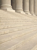 Columns at the United States Supreme Court Royalty Free Stock Photography