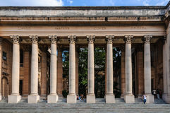 Columns of the University in Havana, Cuba Royalty Free Stock Photo