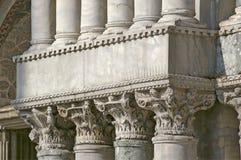 Columns in Venice Royalty Free Stock Photos