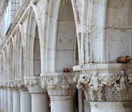 Columns of Venice Royalty Free Stock Images