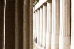 Columns in Villa Oplontis Royalty Free Stock Photography