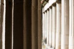 Columns in Villa Oplontis Royalty Free Stock Image
