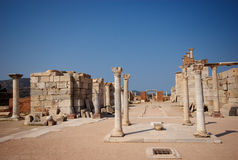 Columns, Walls, and the Tomb of St John Royalty Free Stock Photography