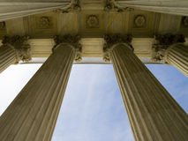 Columns in Washington DC Royalty Free Stock Photo