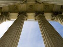 Columns in Washington DC Royalty Free Stock Photo