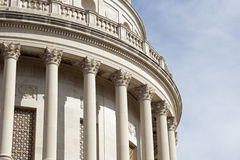 Columns of West Virginia State Capitol Building Royalty Free Stock Photo