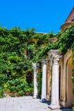 Columnus αρχαίου Έλληνα Chersonese Σεβαστούπολη Ουκρανία Στοκ εικόνα με δικαίωμα ελεύθερης χρήσης