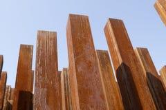 Colums rouillés Photo libre de droits