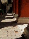 Colums, Santa Catalina (Arequipa, Peru) Royalty Free Stock Photo