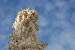 Coluna barroca da trindade Fotografia de Stock
