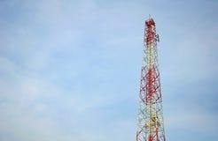 Coluna colorida da eletricidade Foto de Stock
