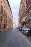 Coluna da concep??o imaculada, Roma fotografia de stock