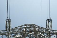 Coluna da eletricidade Foto de Stock Royalty Free