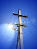 Coluna da iluminação Fotos de Stock