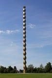 A coluna da infinidade de Constantin Brancusi, Targu Jiu, Romênia Fotos de Stock Royalty Free