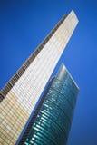 Coluna da luz e do prefeito Skyscraper de Torre em Cidade do México. foto de stock