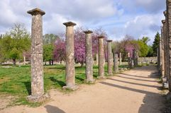 Coluna da Olympia Foto de Stock Royalty Free