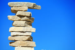 Coluna da pedra imagem de stock royalty free