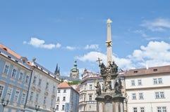 Coluna da praga de Praga Imagem de Stock Royalty Free
