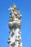 Coluna da trindade santamente em Budapest, Hungria imagem de stock royalty free