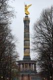 Coluna da vitória de Berlim Imagens de Stock