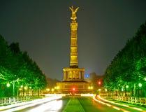 Coluna da vitória em Berlim fotografia de stock royalty free