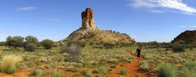 Coluna das câmaras, Território do Norte, Austrália foto de stock royalty free