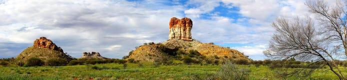 Coluna das câmaras, Território do Norte, Austrália imagem de stock royalty free