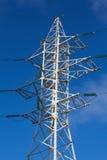 Coluna de alta tensão Foto de Stock