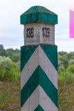 Coluna de beira Foto de Stock