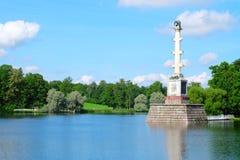 Coluna de Chesme, Rússia Fotos de Stock Royalty Free
