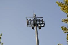 Coluna de Coluna de Holofotes_Spotlight Foto de Stock