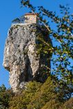 Coluna de Katskhi Marcos Georgian imagens de stock royalty free