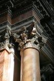 Coluna de mármore fotografia de stock