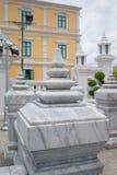 Coluna de mármore no santuário da coluna da cidade de Banguecoque em Banguecoque, Thail fotos de stock royalty free