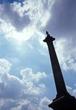 Coluna de Nelson. fotografia de stock royalty free