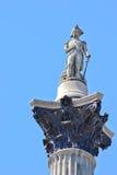 Coluna de Nelson fotos de stock royalty free