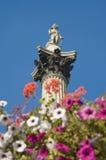 Coluna de Nelson em Londres fotos de stock
