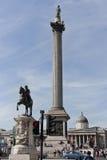 Coluna de Nelsons imagens de stock