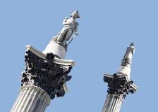 Coluna de Nelsons Fotografia de Stock Royalty Free