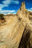 Coluna de pedra natural fotografia de stock
