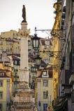 Coluna de Pedro IV Imagens de Stock
