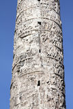 Coluna de Roma fotografia de stock royalty free