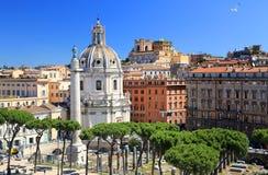 Coluna de Trajan foto de stock royalty free